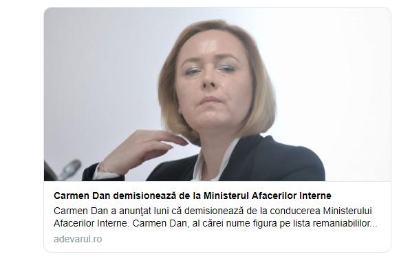 Carmen Dan a demisionat.PNG